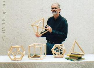 9&quot; Classroom size Platonic Solids set / RND Modelshop.com