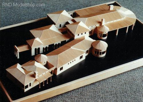 Custom Residence Architectural Model / 6,000 sq ft under air, 10,000 sq ft roof