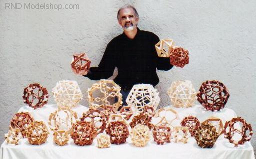 All Wood Polyhedron & Geodesic Models / RND Modelshop.com