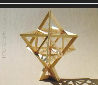 Star Tetrahedron (merkaba) 